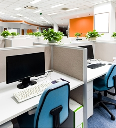 Commercial air purifiers to create a healthy work environment.